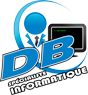 Soutien Informatique Daniel Brown Logo